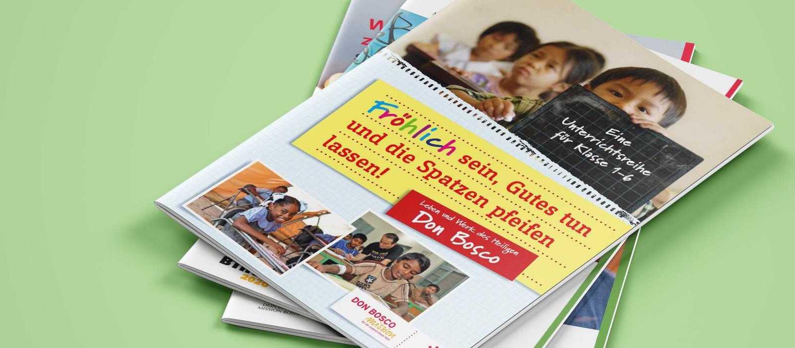 Cover verschiedene Lehrerhandreichungen
